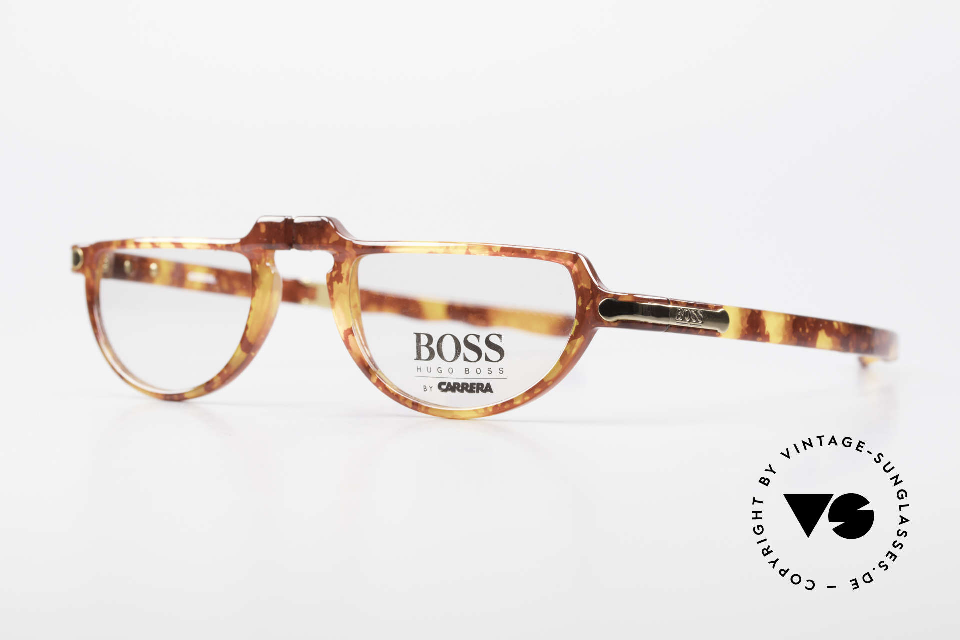 BOSS 5103 90's Folding Reading Glasses, high-end OPTYL material (lightweight and durable), Made for Men and Women