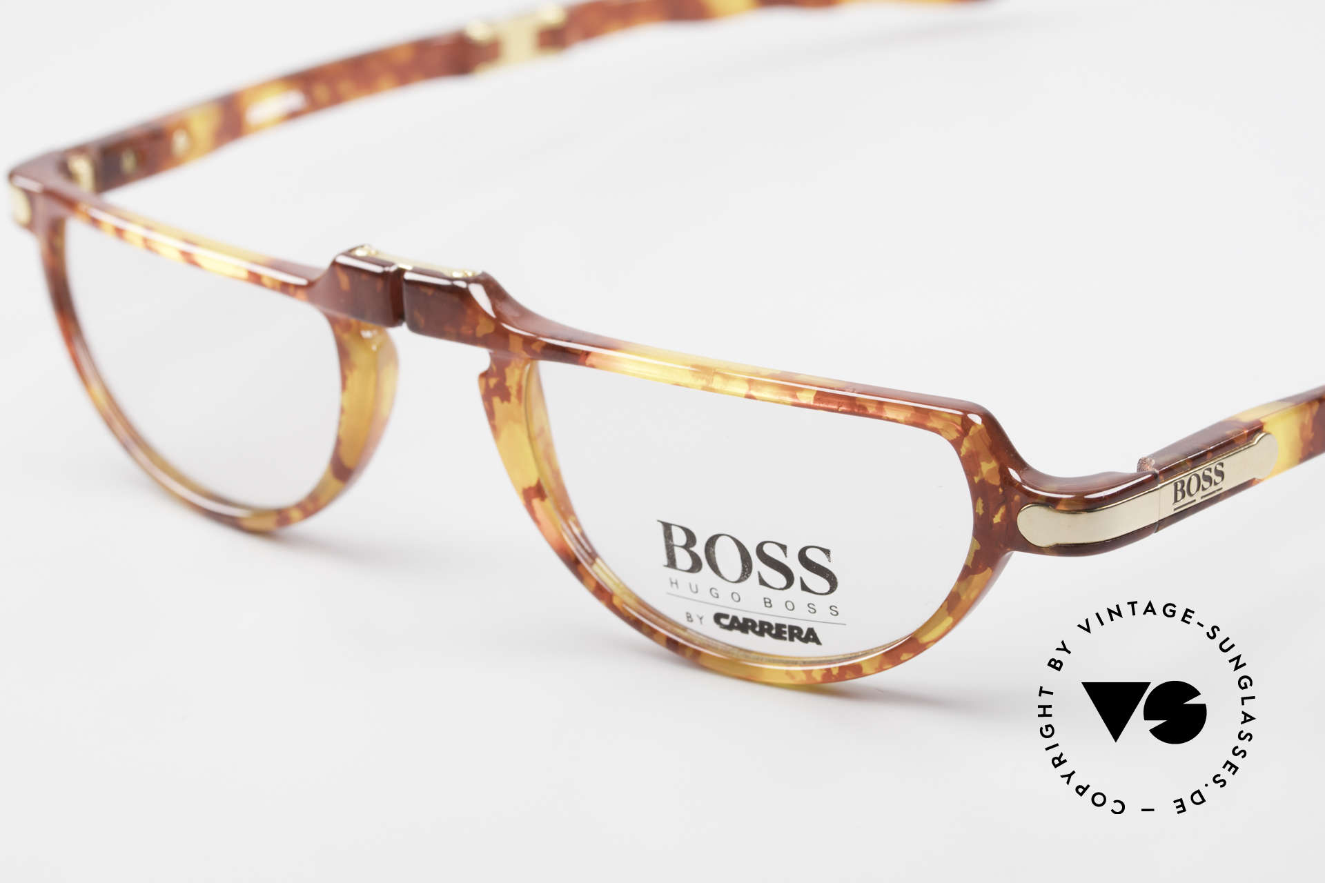 BOSS 5103 90's Folding Reading Glasses, typical 'Optyl shine' - as brilliant as just produced, Made for Men and Women