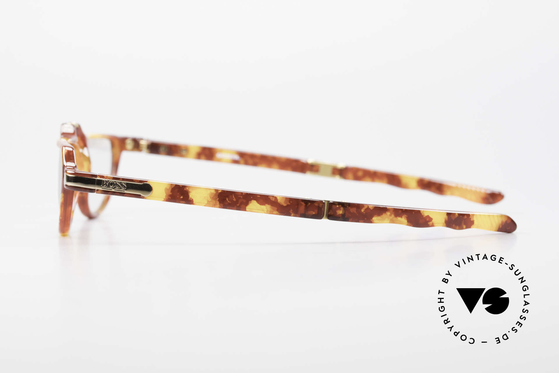 BOSS 5103 90's Folding Reading Glasses, new old stock (unworn) - incl. original folding case, Made for Men and Women
