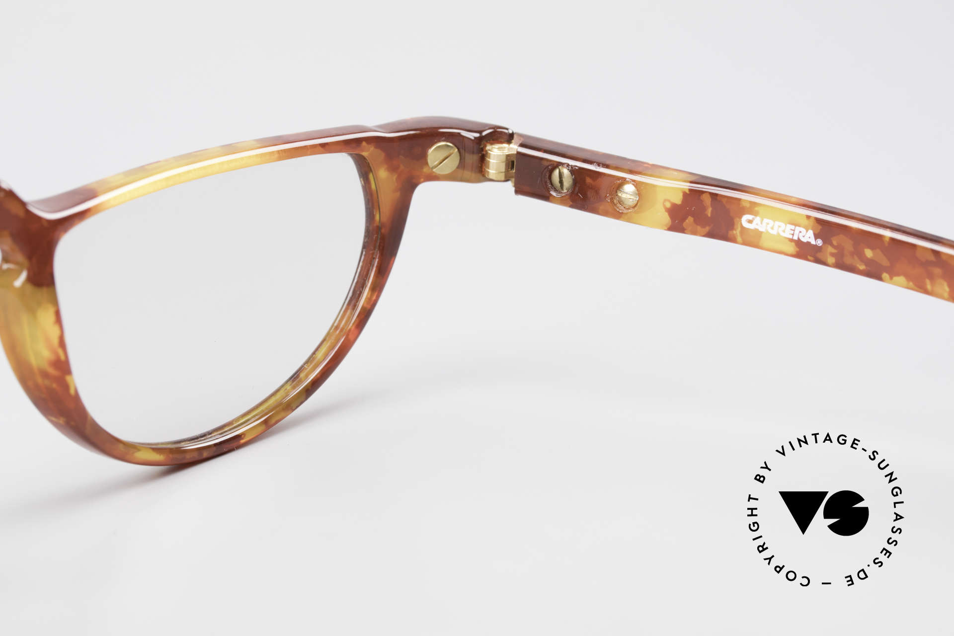 BOSS 5103 90's Folding Reading Glasses, NO RETRO; an old original with interesting coloring, Made for Men and Women