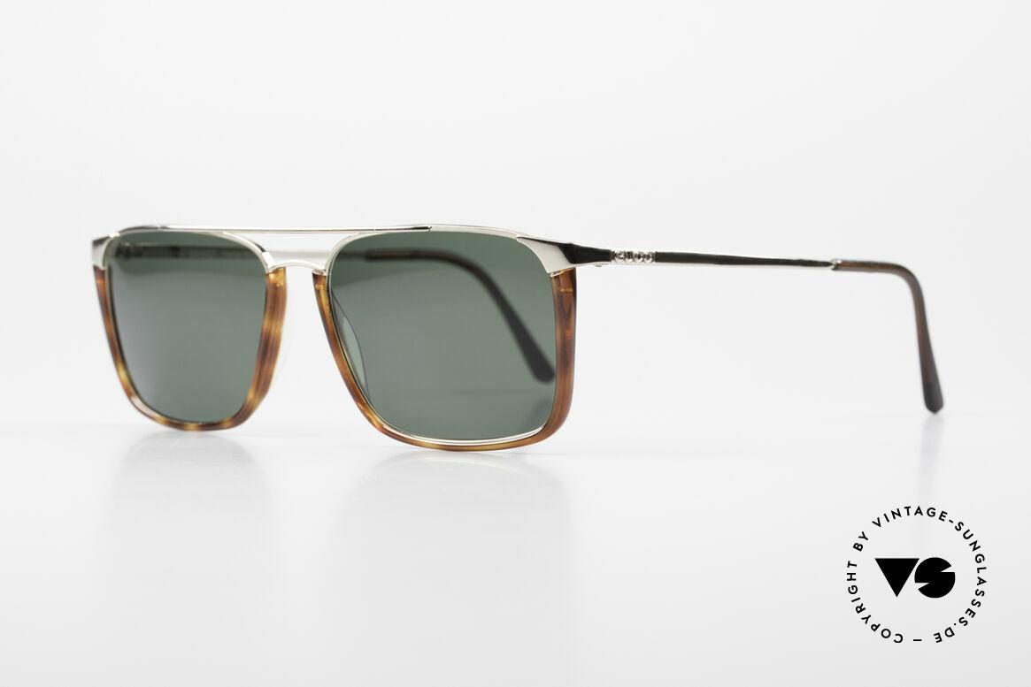 Gucci 1307 Rare 90's Designer Sunglasses, noble timeless design (gold-plated / tortoise), Made for Men and Women