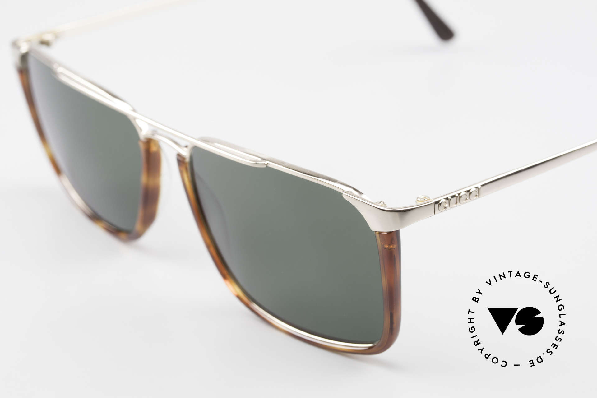 Gucci 1307 Rare 90's Designer Sunglasses, high-end quality & 1. class wearing comfort, Made for Men and Women