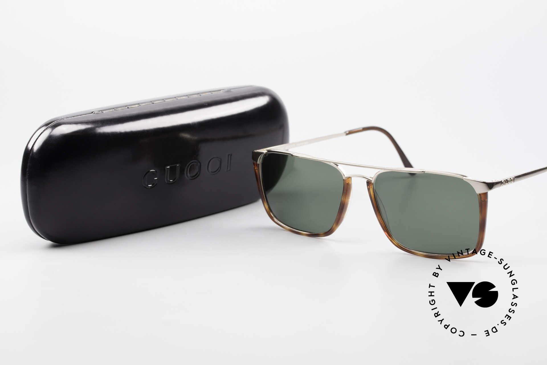 Gucci 1307 Rare 90's Designer Sunglasses, NO retro sunglasses; an old Gucci ORIGINAL, Made for Men and Women