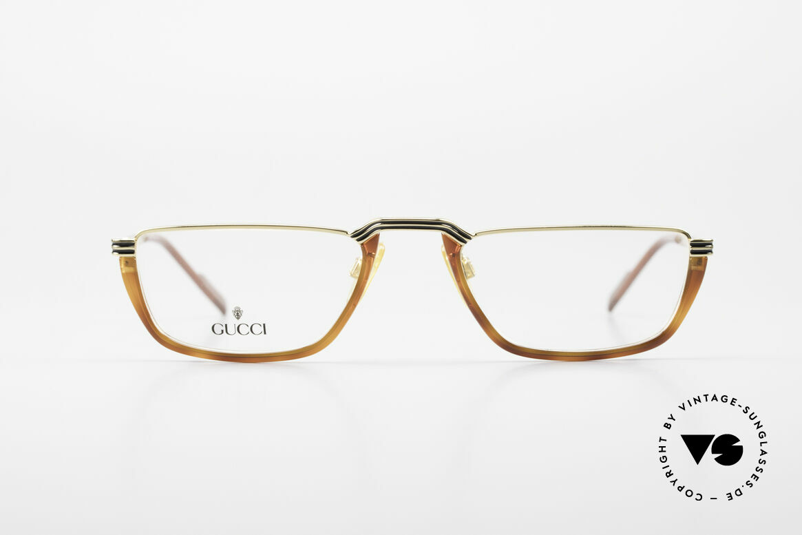 Gucci 1306 Designer Reading Eyeglasses, elegant RARITY from the early 1990's by GUCCI, Made for Men
