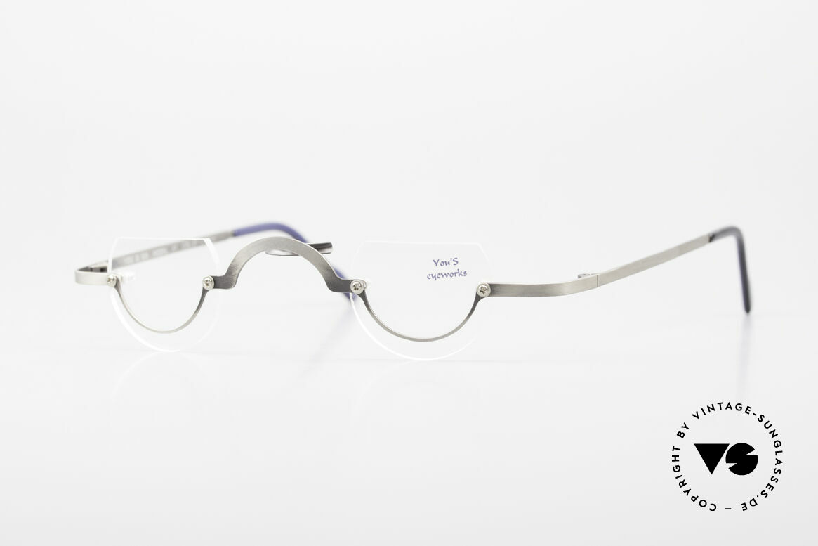 You's Eyeworks 41 Crazy Vintage Reading Glasses, YOU'S: fancy reading eyeglasses from the 1990's, Made for Men and Women