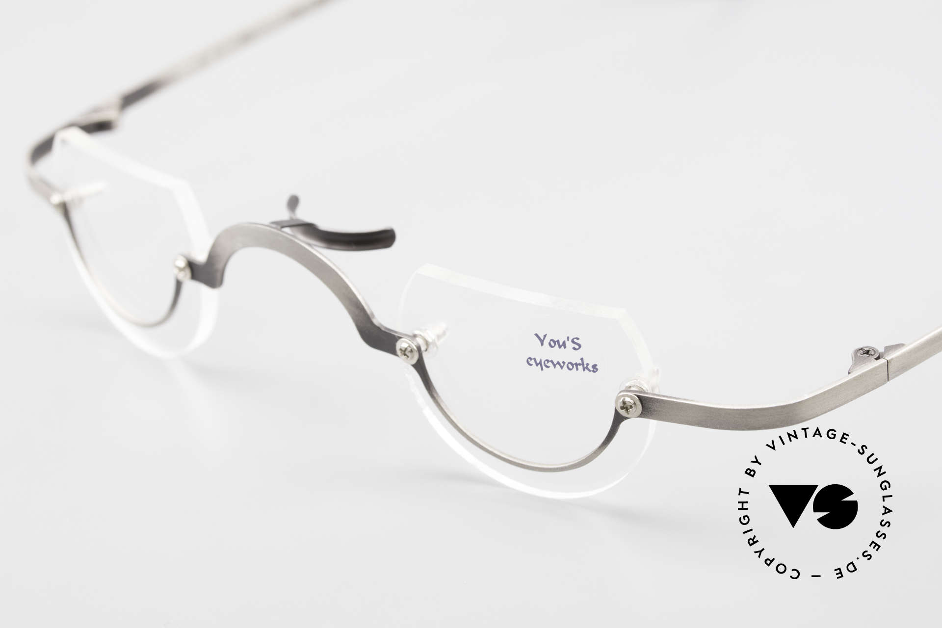 You's Eyeworks 41 Crazy Vintage Reading Glasses, NO RETRO eyeglasses, but an old 1990's ORIGINAL, Made for Men and Women