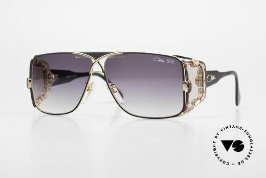 Cazal 955 Rare 80's Hip Hop Sunglasses Details
