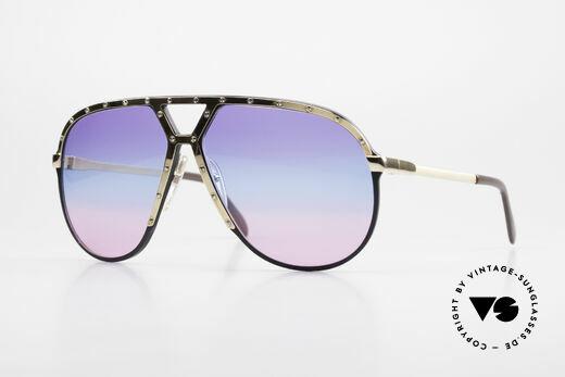 Alpina M1 Tricolored 80's Sunglasses Details