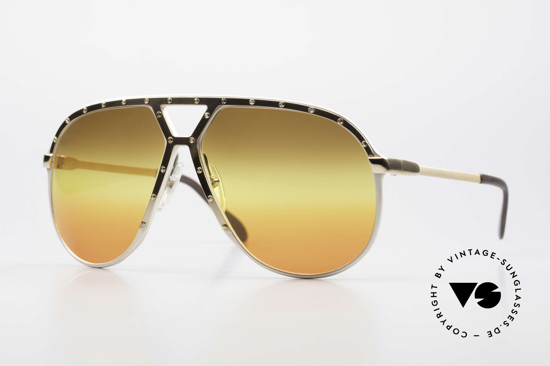 Alpina M1 80's Sunglasses West Germany, old WEST GERMANY sunglasses: the ALPINA M1, Made for Men