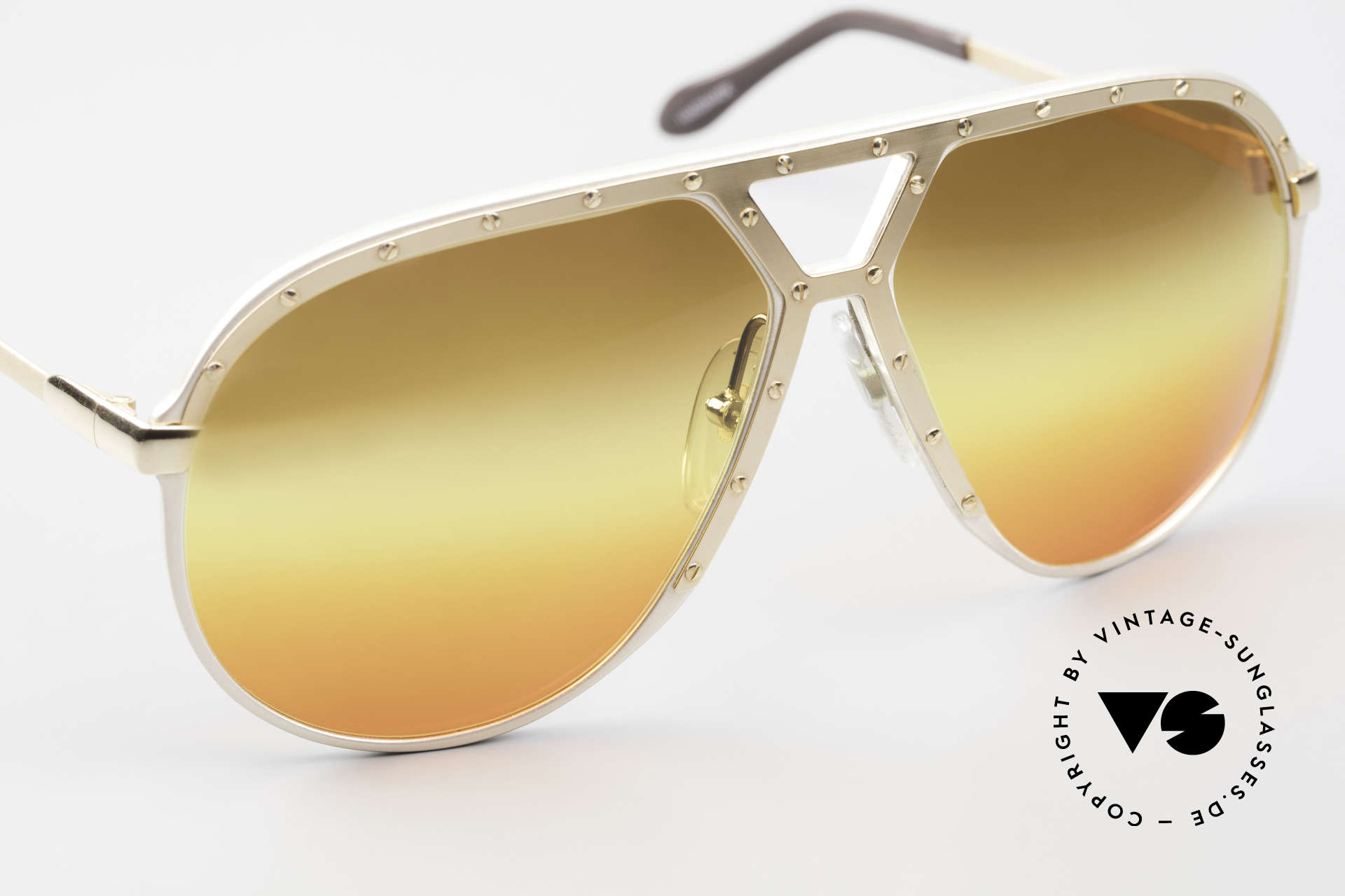 Alpina M1 80's Sunglasses West Germany, unworn collector's item comes with a Porsche case, Made for Men