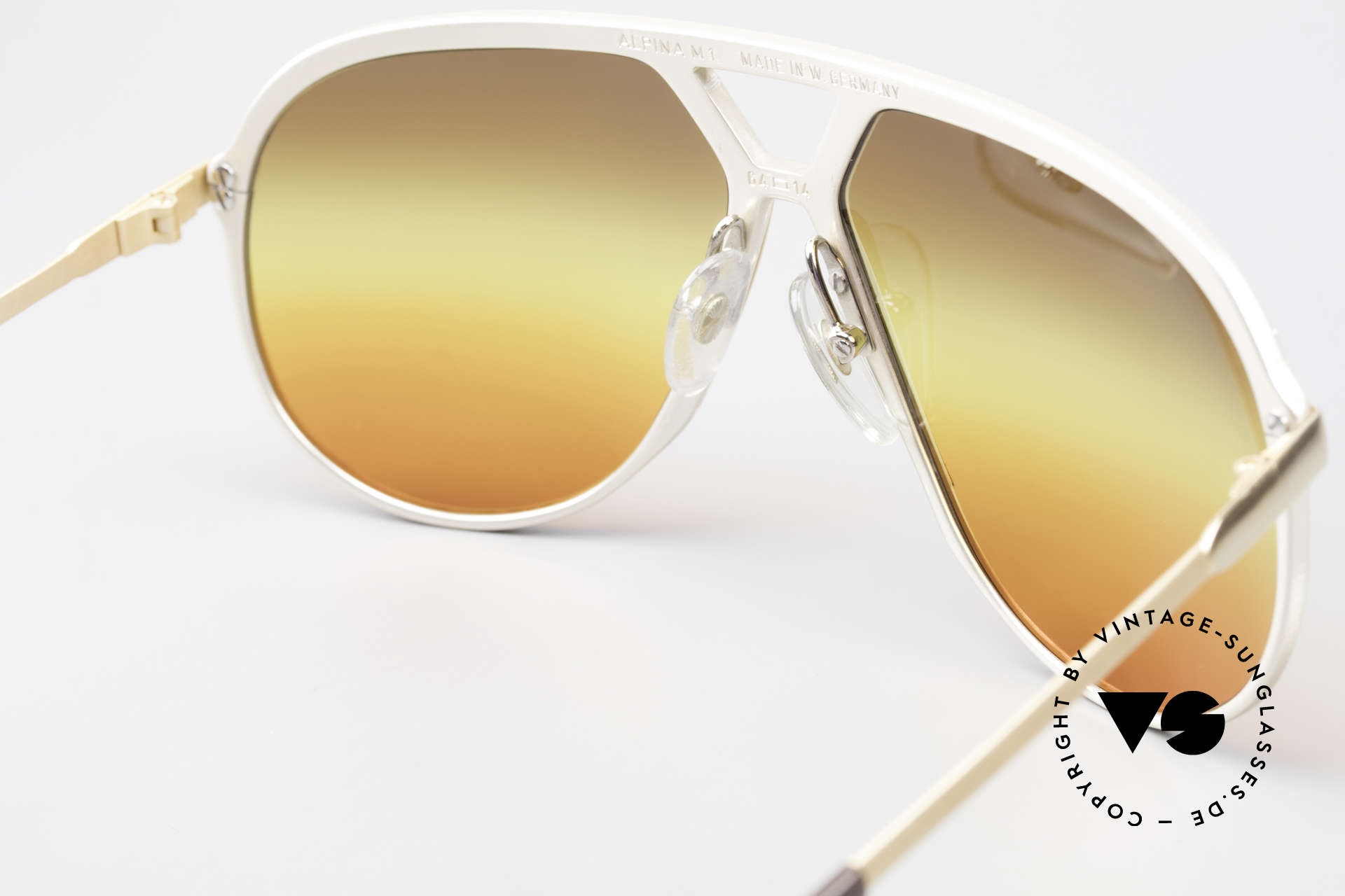 Alpina M1 80's Sunglasses West Germany, NO RETRO EYEWEAR, but a 35 years old RARITY!, Made for Men