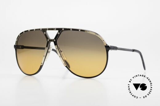 Alpina M1 80's XL Aviator Sunglasses Details