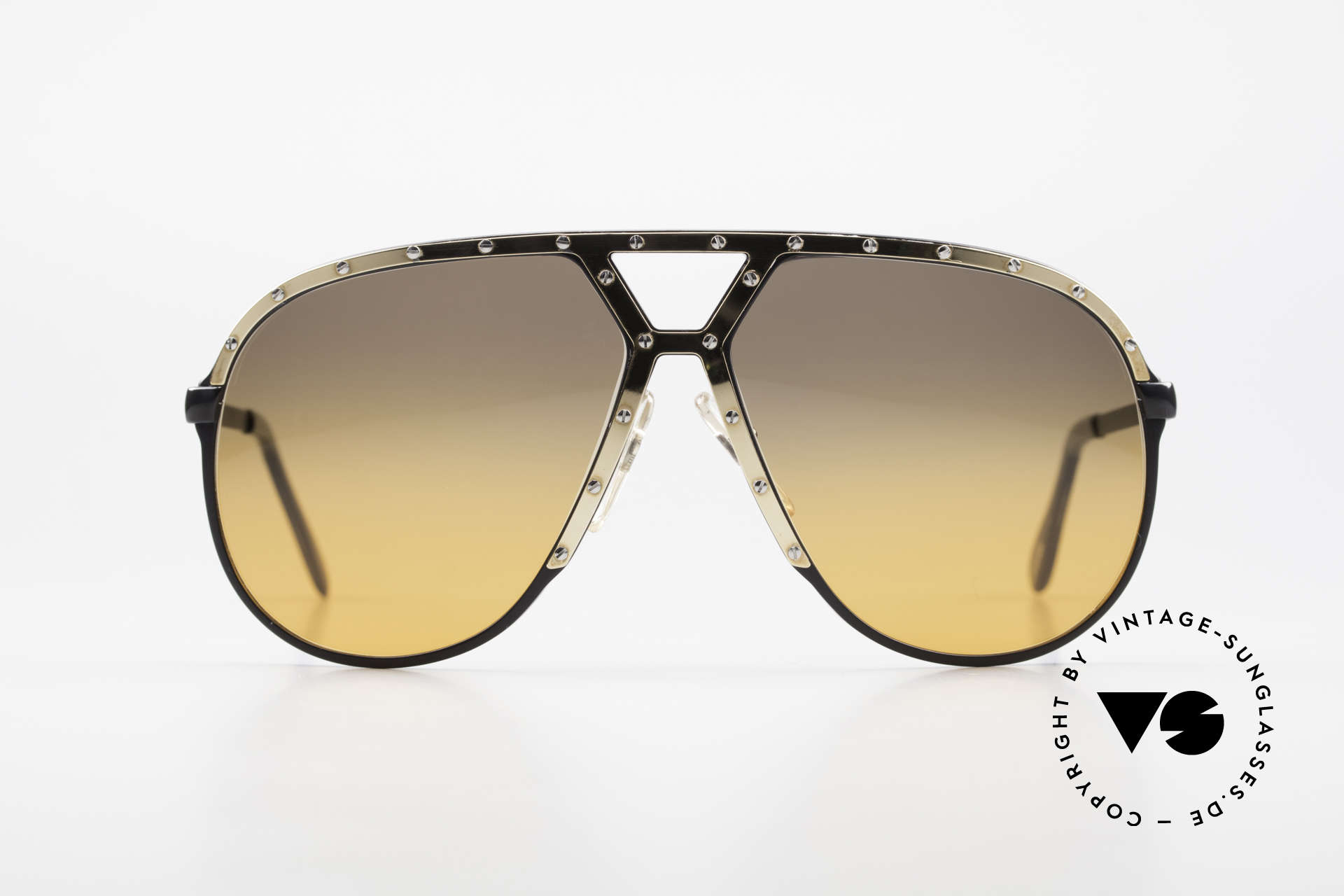 Alpina M1 80's XL Aviator Sunglasses, Stevie Wonder made the M1 model his trademark, Made for Men