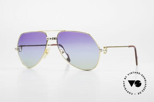Cartier Vendome Santos - M James Bond Sunglasses 1980's Details