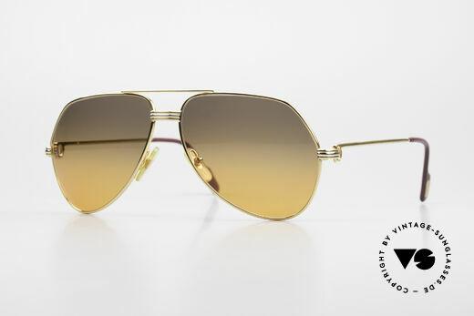 Cartier Vendome LC - M Movie Sunglasses Wall Street Details