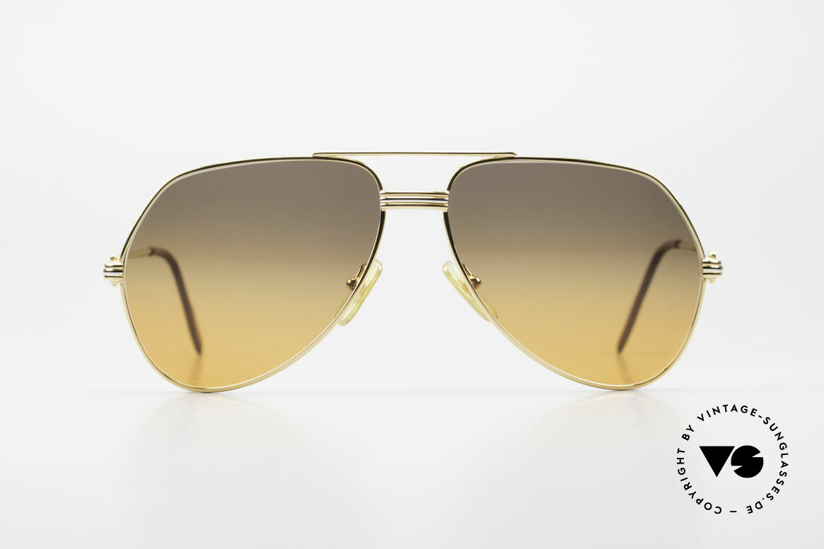 """Cartier Vendome LC - M Movie Sunglasses Wall Street, mod. """"Vendome"""" was launched in 1983 & made till 1997, Made for Men and Women"""