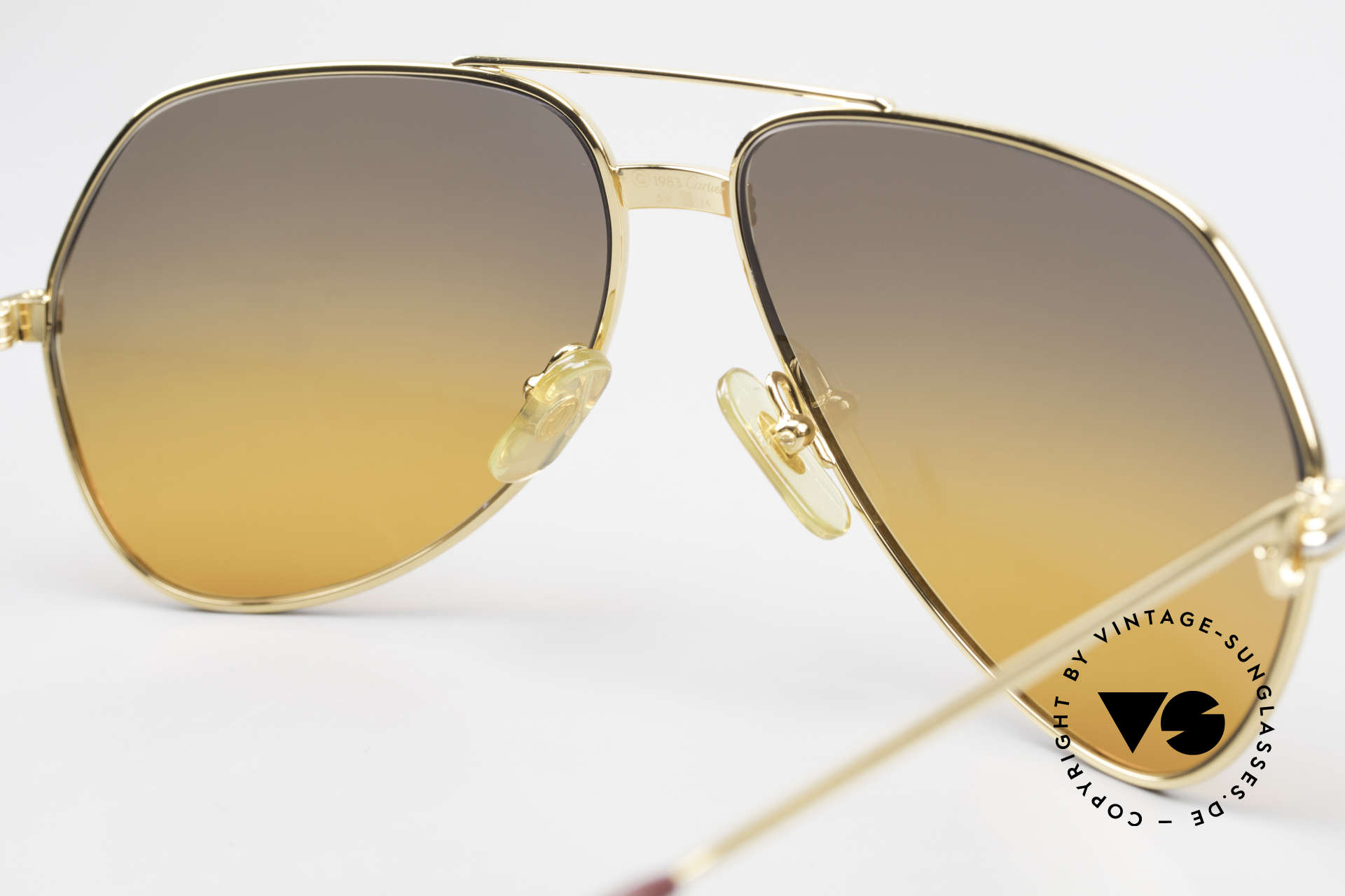 Cartier Vendome LC - M Movie Sunglasses Wall Street, unworn rarity: hard to find in this condition, these days, Made for Men and Women