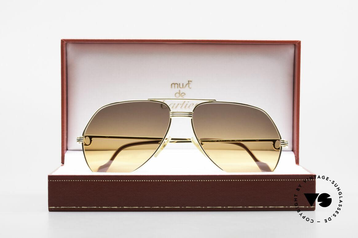 Cartier Vendome LC - M Movie Sunglasses Wall Street, NO retro sunglasses, but an authentic vintage ORIGINAL, Made for Men and Women