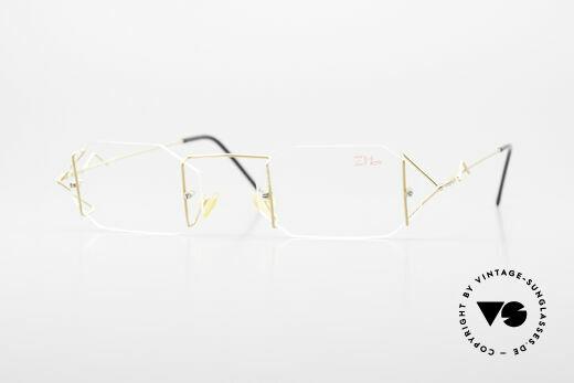 Z Mark 9 Artful 90's Rimless Eyeglasses Details