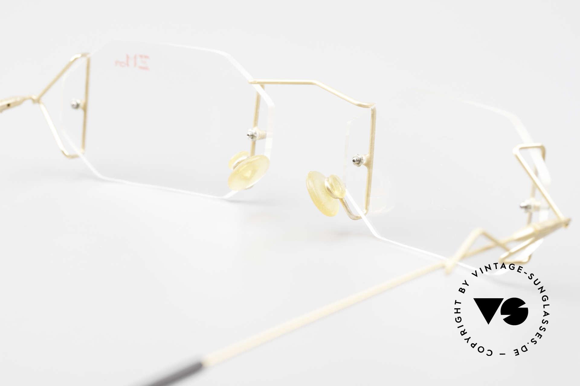 Z Mark 9 Artful 90's Rimless Eyeglasses, Size: medium, Made for Men and Women