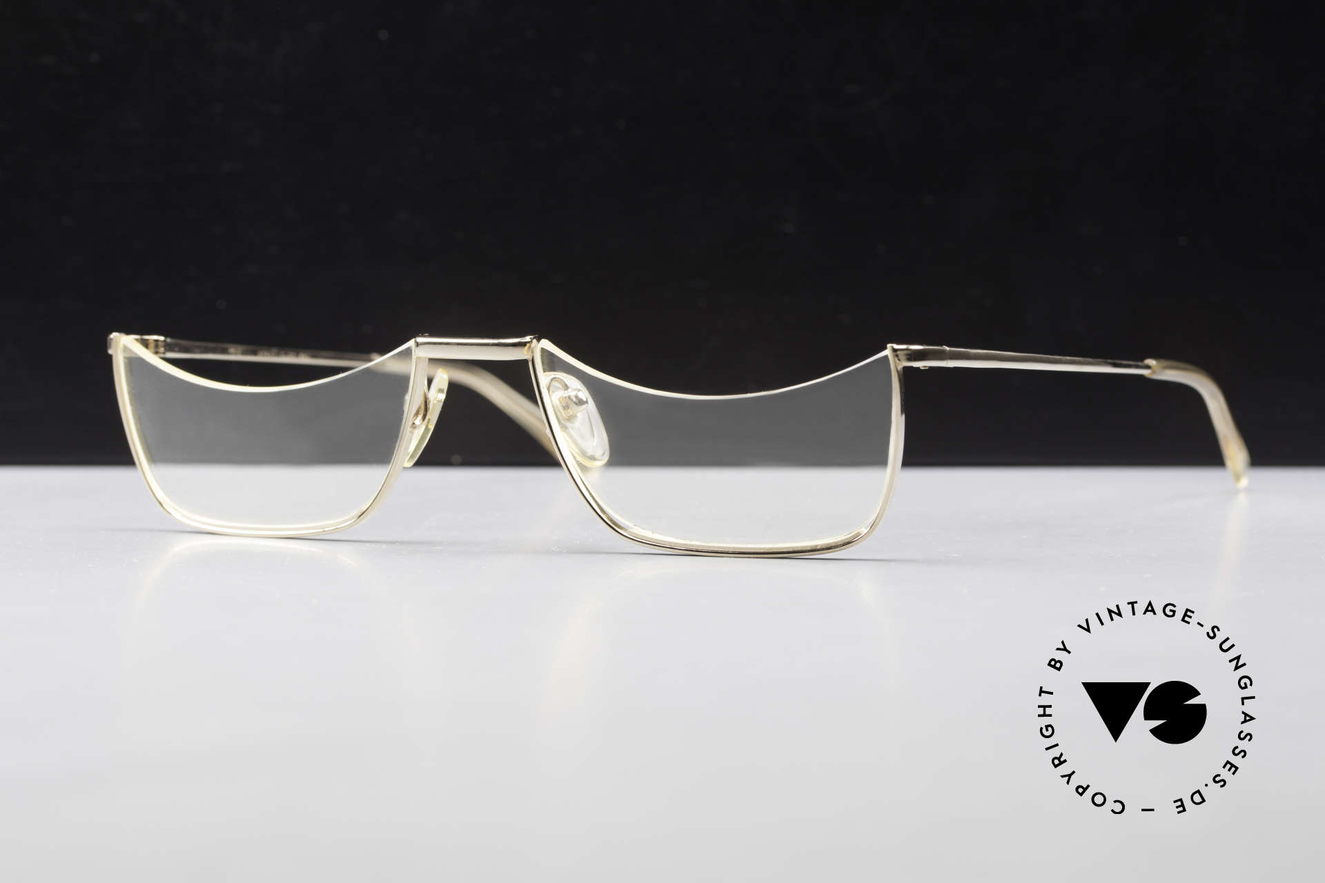 Norville Polymil Antique Reading Glasses 60's, real antique reading eyeglasses from the 1960's, Made for Men