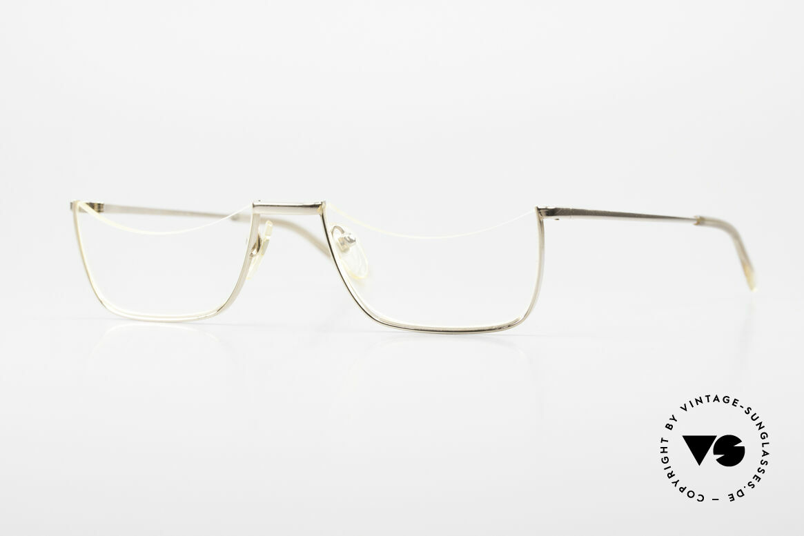 Norville Polymil Antique Reading Glasses 60's, true rarity, museums piece, in medium size 51-21, Made for Men