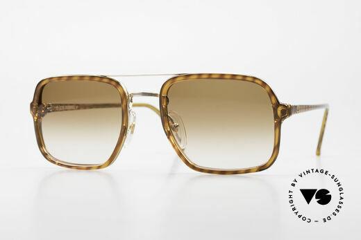 Dunhill 6059 80's Vintage Men's Sunglasses Details