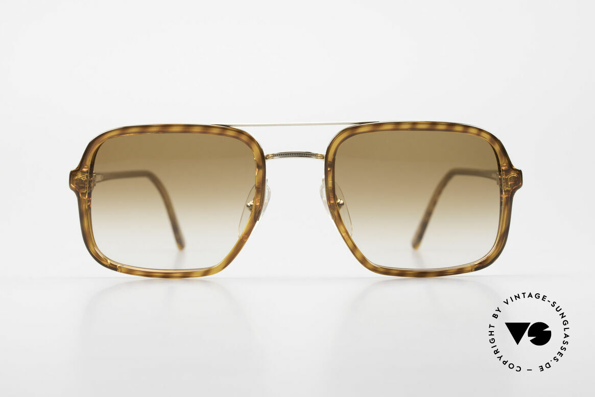 Dunhill 6059 80's Vintage Men's Sunglasses, striking Alfred Dunhill designer sunglasses from 1986, Made for Men