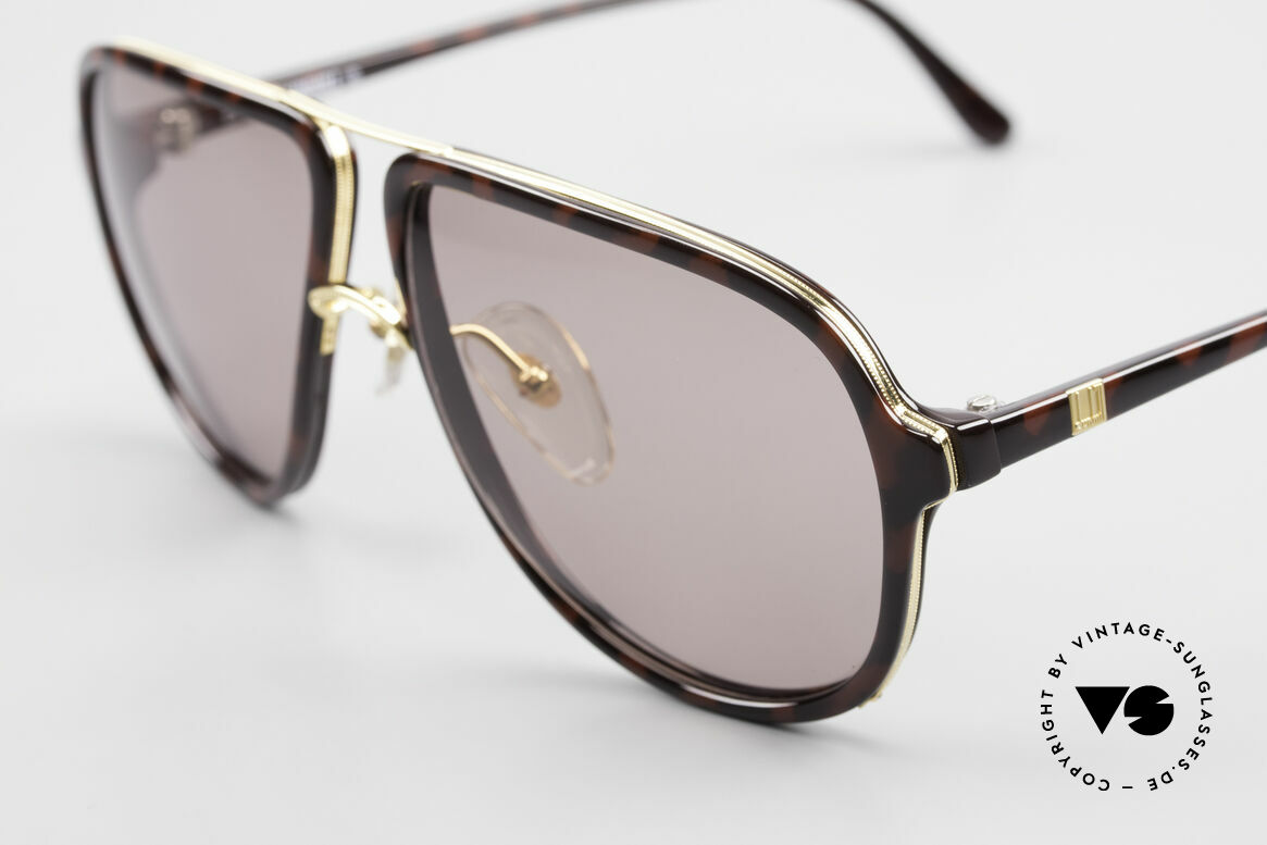 Dunhill 6058 True Vintage Men's Sunglasses, typically 80's .. with double bridge and elegant pattern, Made for Men