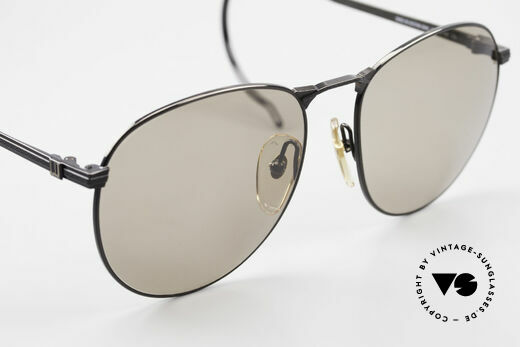 Dunhill 6044 80's Panto Style Sunglasses, the sun lenses can be replaced with prescriptions, Made for Men
