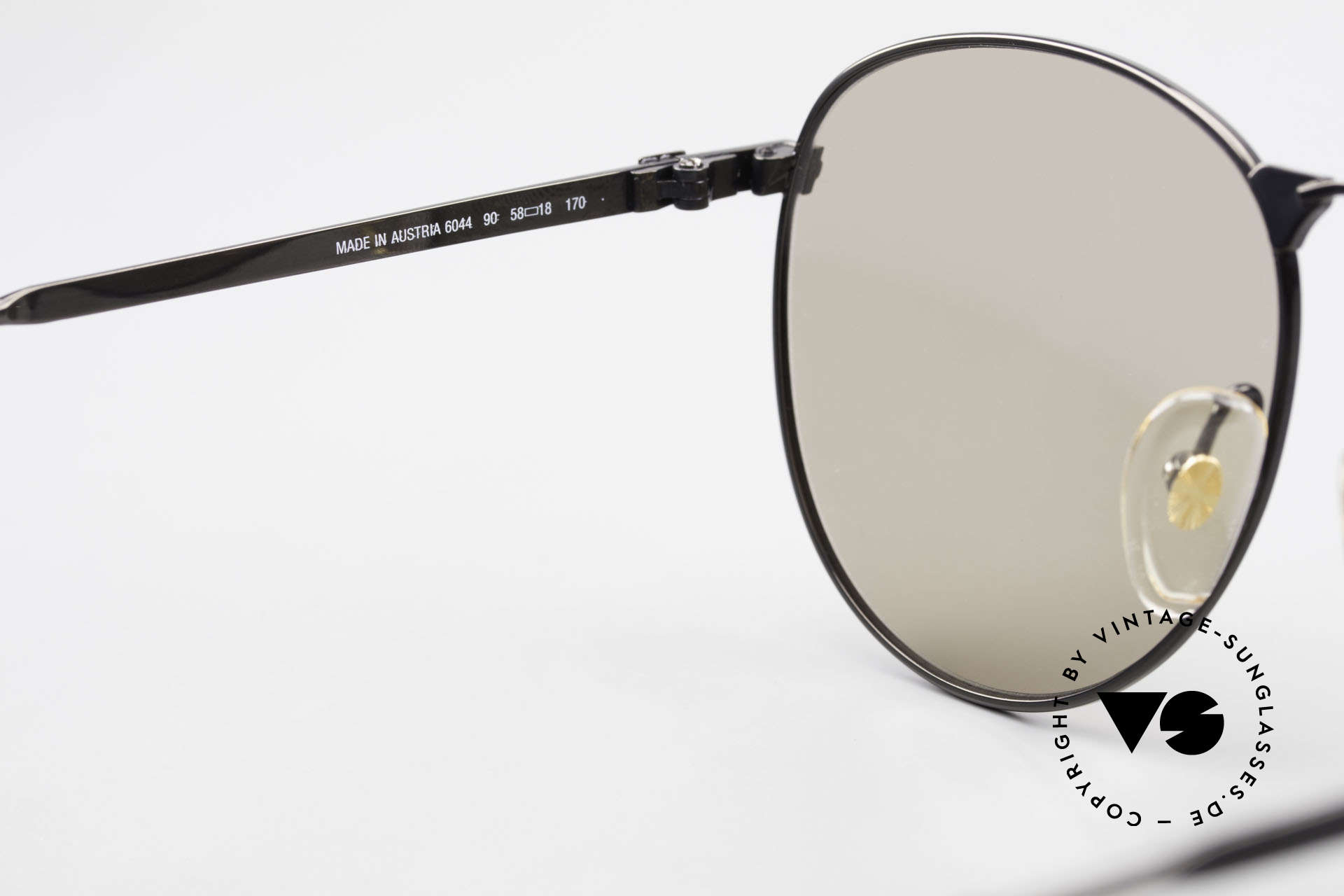 Dunhill 6044 80's Panto Style Sunglasses, Size: large, Made for Men
