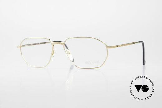 S.T. Dupont D059 Luxury Gold Plated Frame 90's Details
