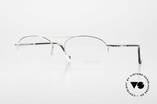 S.T. Dupont D116 Nylor Aviator Glasses 2000's Details