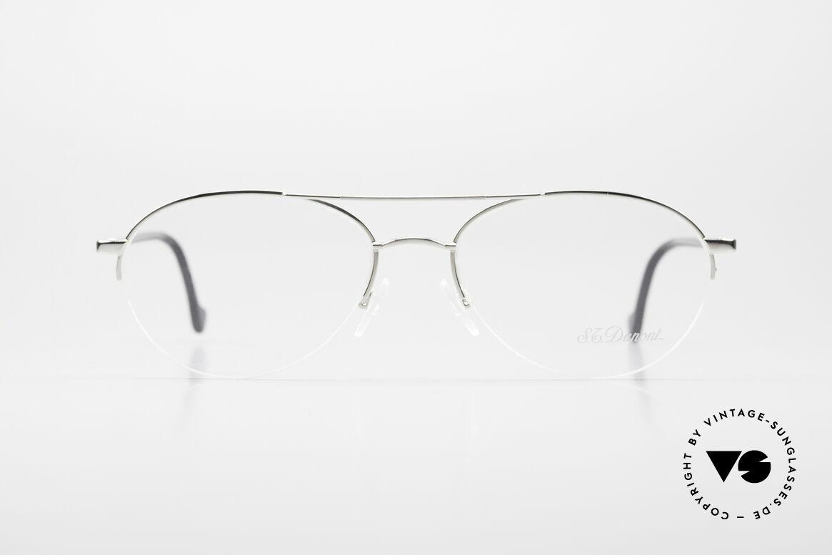 """S.T. Dupont D116 Nylor Aviator Glasses 2000's, semi rimless (Nylor) men's """"AVIATOR"""" eyeglass-frame, Made for Men"""