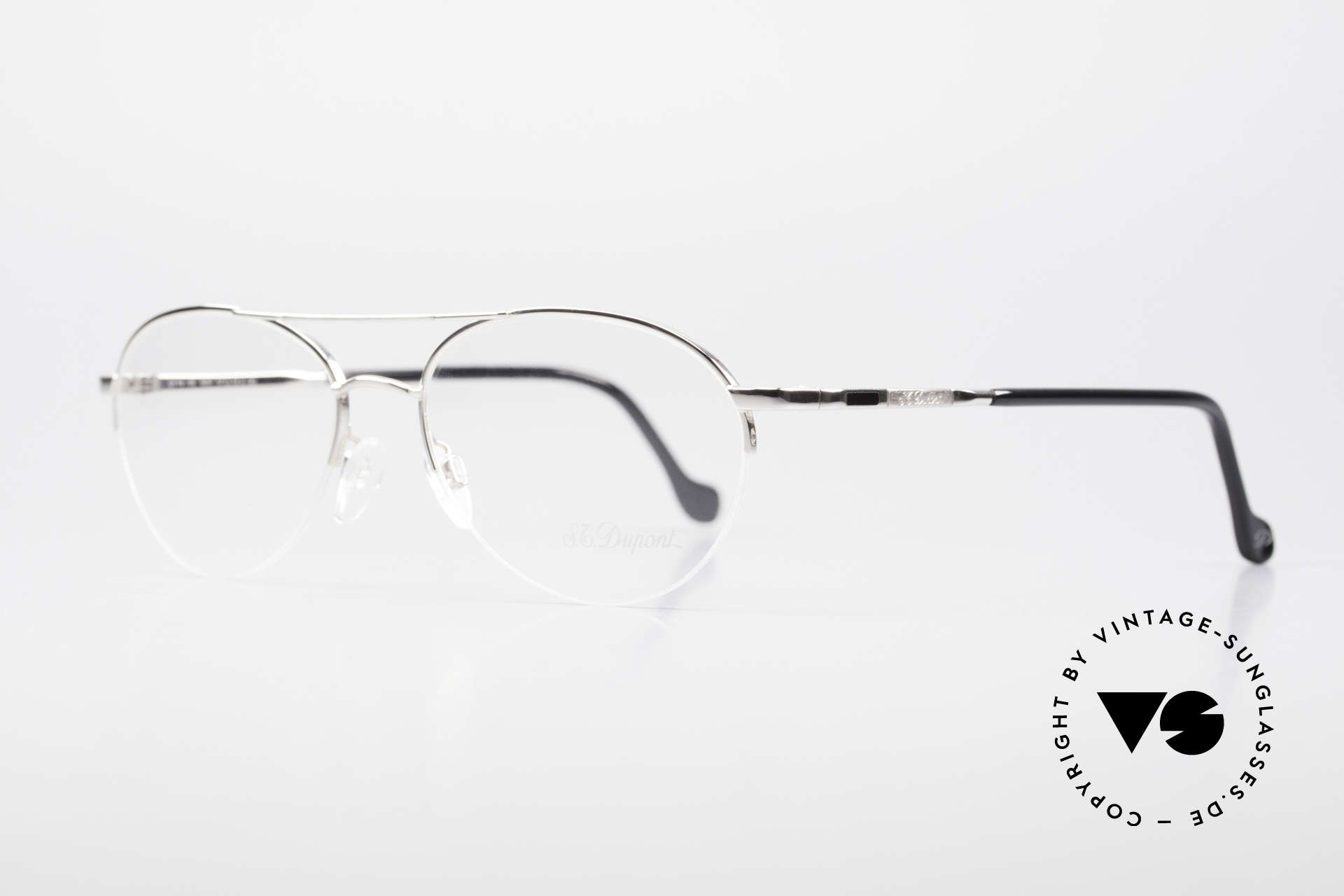 S.T. Dupont D116 Nylor Aviator Glasses 2000's, very noble & 1. class wearing comfort; large size 57/18, Made for Men