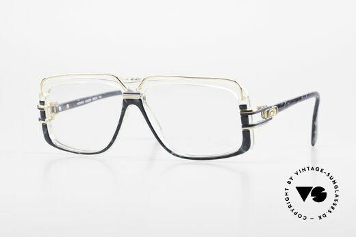 Cazal 640 80's Hip Hop Eyeglass Frame Details