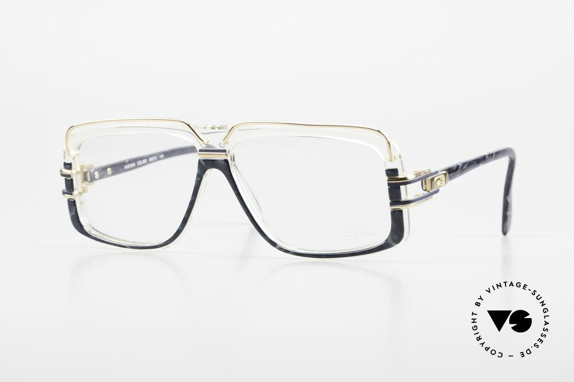 Cazal 640 80's Hip Hop Eyeglass Frame, Run DMC Hip Hop scene eyeglasses from 1989/1990, Made for Men