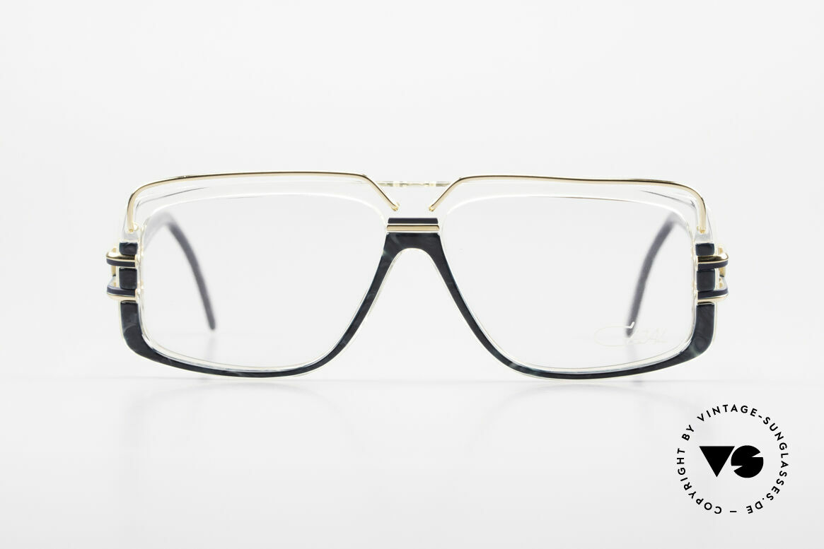 Cazal 640 80's Hip Hop Eyeglass Frame, distinctive CAri ZALloni design (frame W.GERMANY), Made for Men