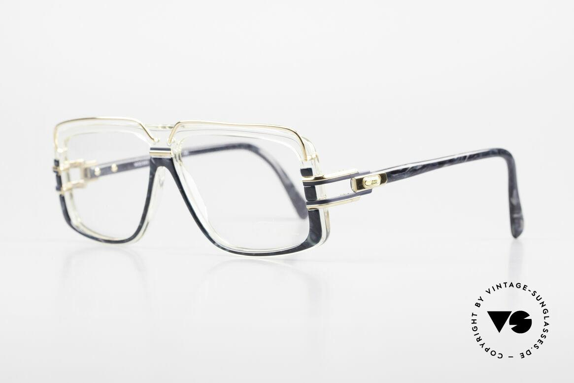 Cazal 640 80's Hip Hop Eyeglass Frame, old school frame - a 'must have' in size 58-12, 140, Made for Men