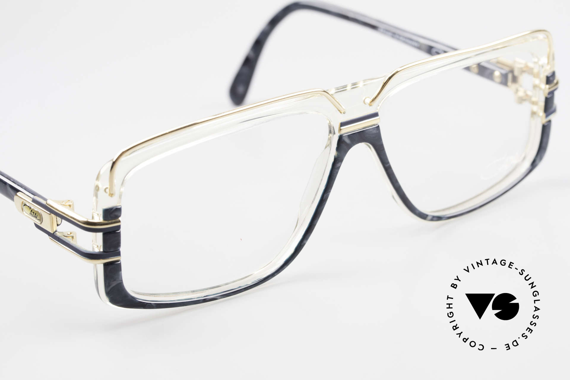 Cazal 640 80's Hip Hop Eyeglass Frame, new old stock (like all our rare vintage Cazal specs), Made for Men