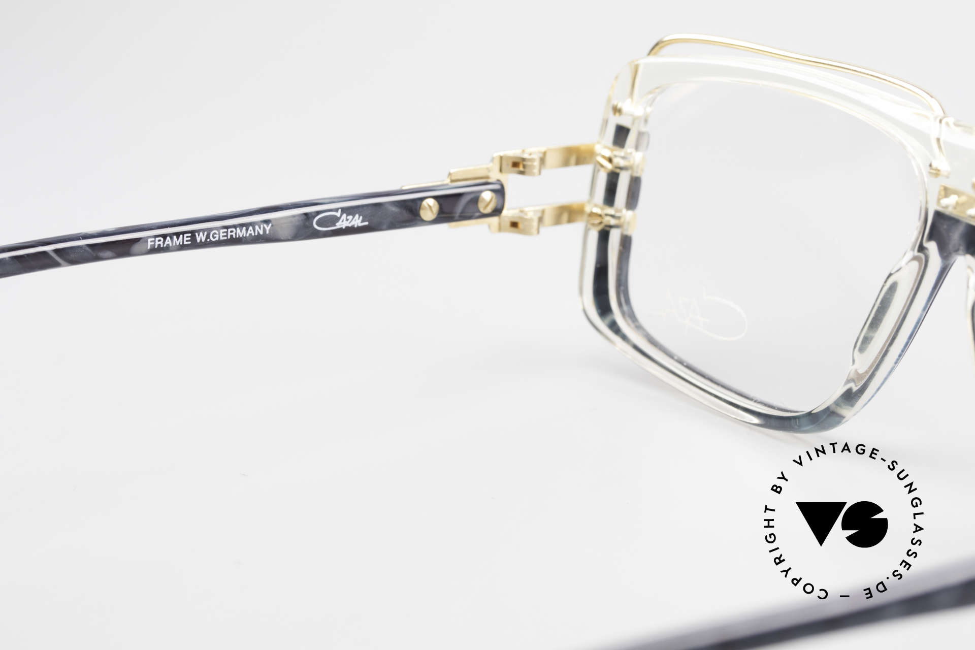 Cazal 640 80's Hip Hop Eyeglass Frame, NO RETRO eyeglasses, but a 30 years old ORIGINAL, Made for Men
