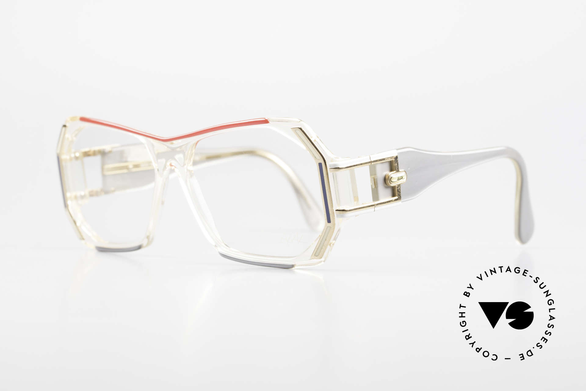 Cazal 182 80's HipHop Old School Frame, massive design by style-icon Cari Zalloni (Mr. Cazal), Made for Men and Women