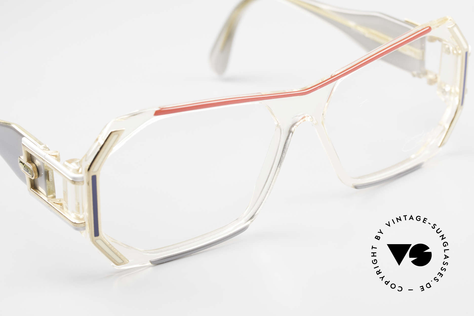 Cazal 182 80's HipHop Old School Frame, orig. demo lenses should be replaced with prescriptions, Made for Men and Women