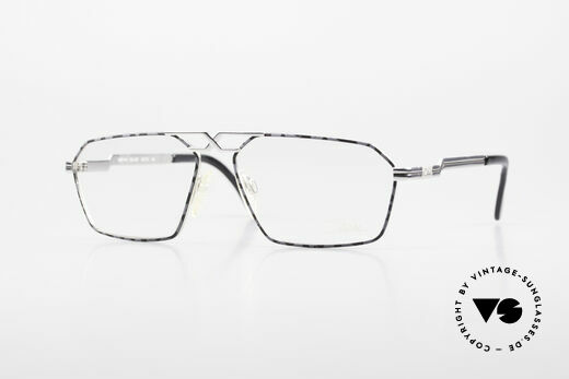 Cazal 744 90's Vintage Glasses For Men Details
