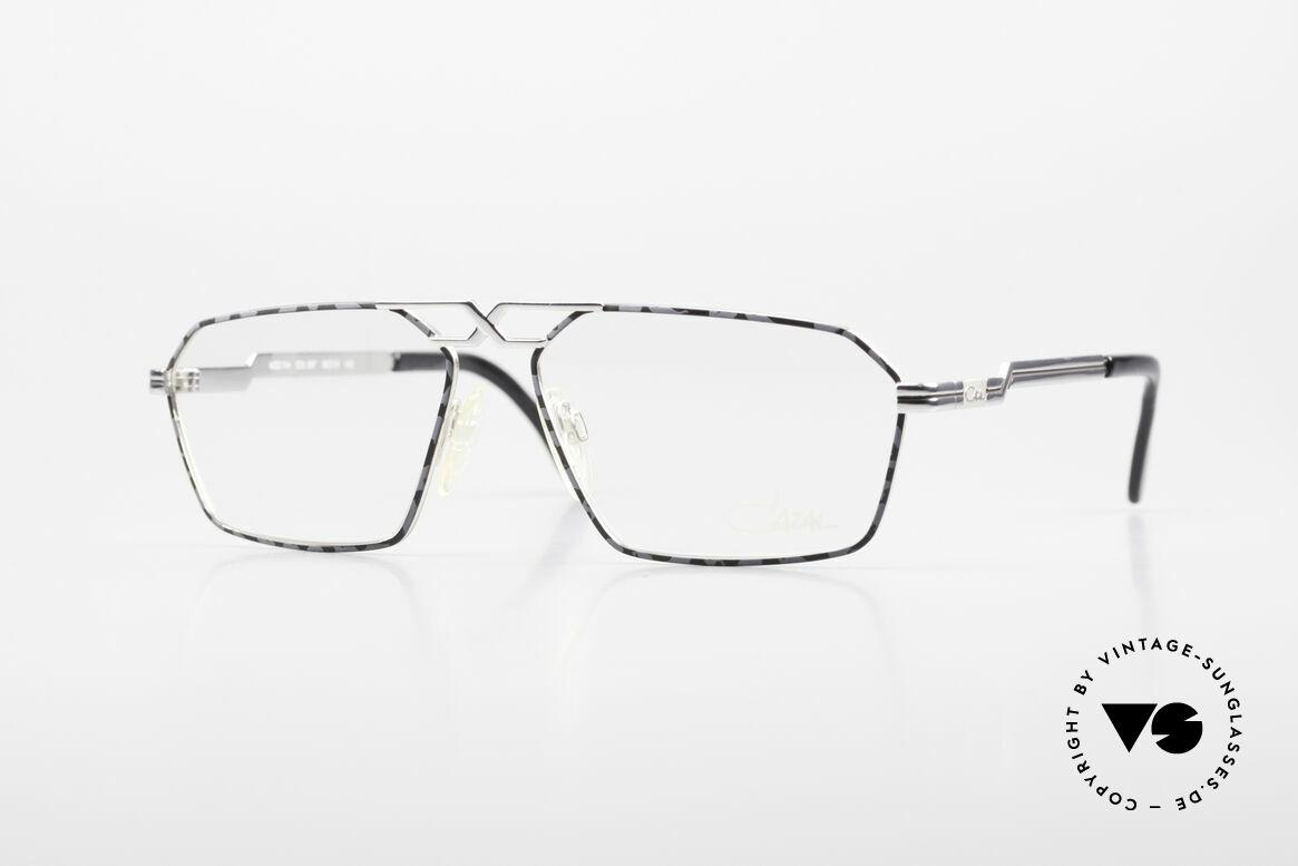Cazal 744 90's Vintage Glasses For Men, expressive Cazal model for men from app. 1990, Made for Men