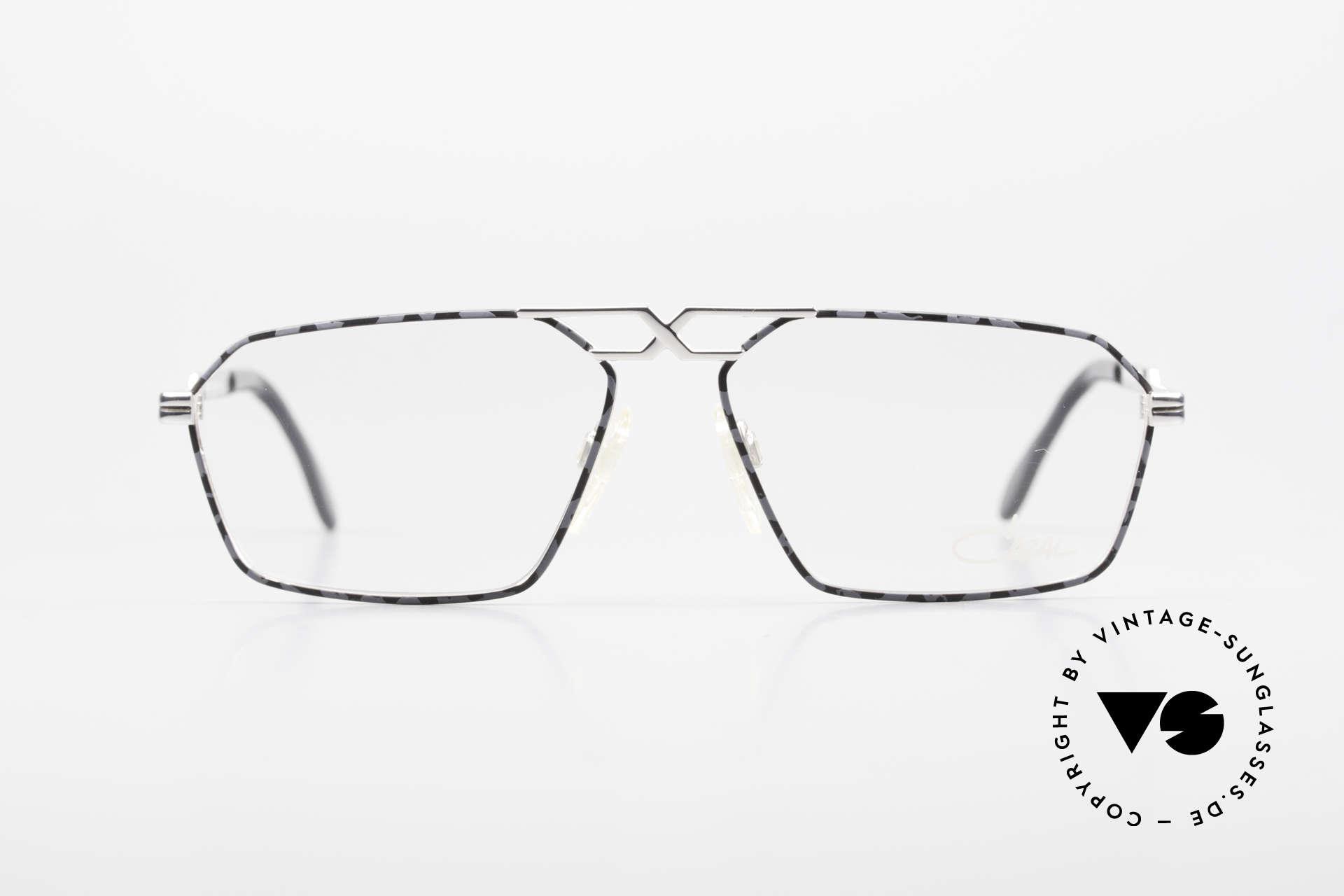 Cazal 744 90's Vintage Glasses For Men, distinctive design by grandmaster CAri ZALloni, Made for Men