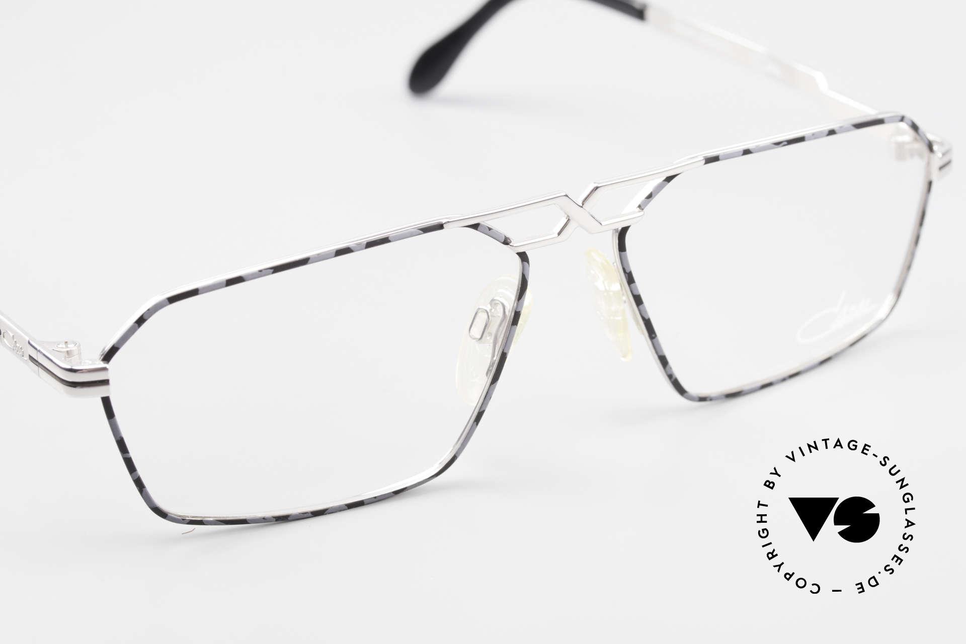 Cazal 744 90's Vintage Glasses For Men, NO retro eyeglasses; a rare 25 years old original, Made for Men