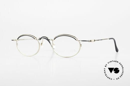 Cazal 775 Rare Oval 1990's Eyeglasses Details