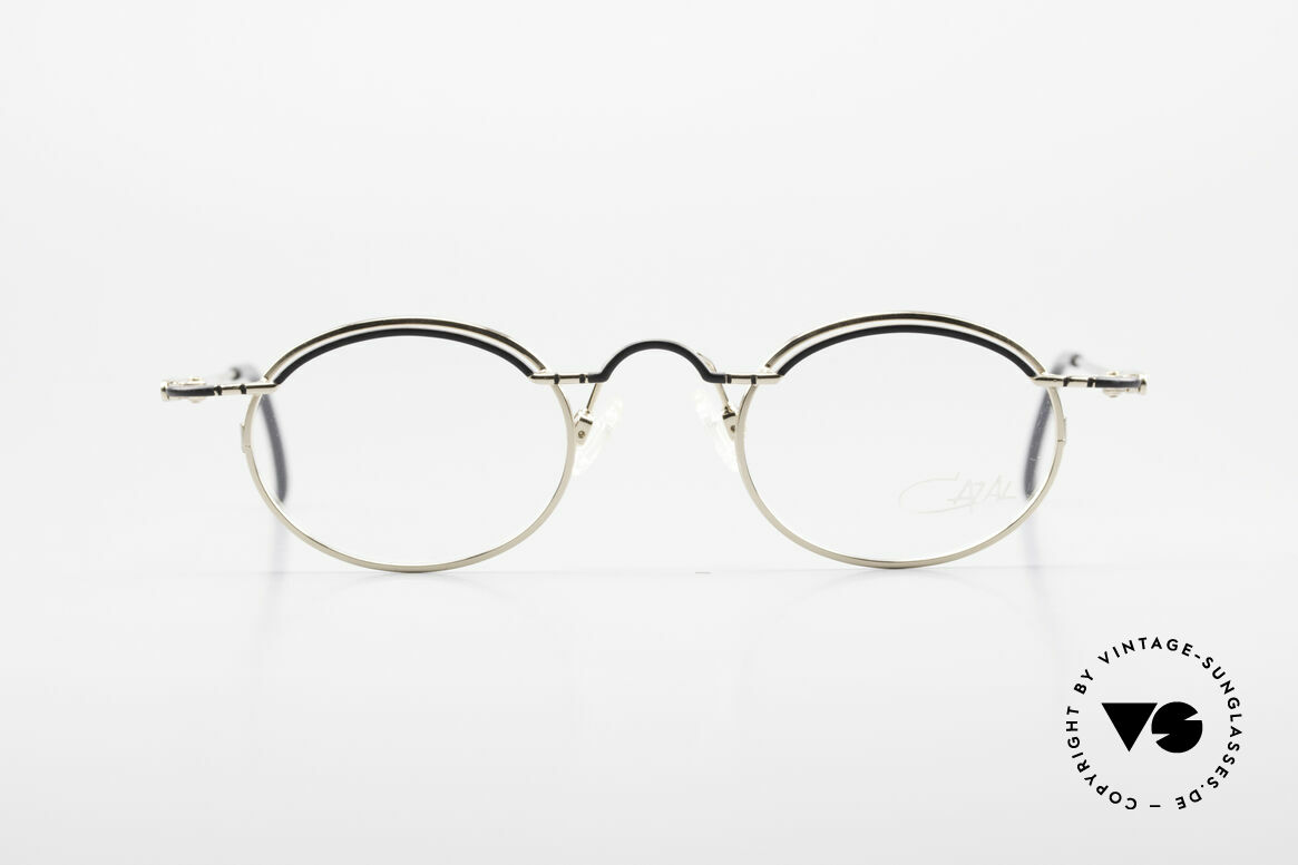 Cazal 775 Rare Oval 1990's Eyeglasses, futuristic frame design; 'made in Germany' quality, Made for Men and Women