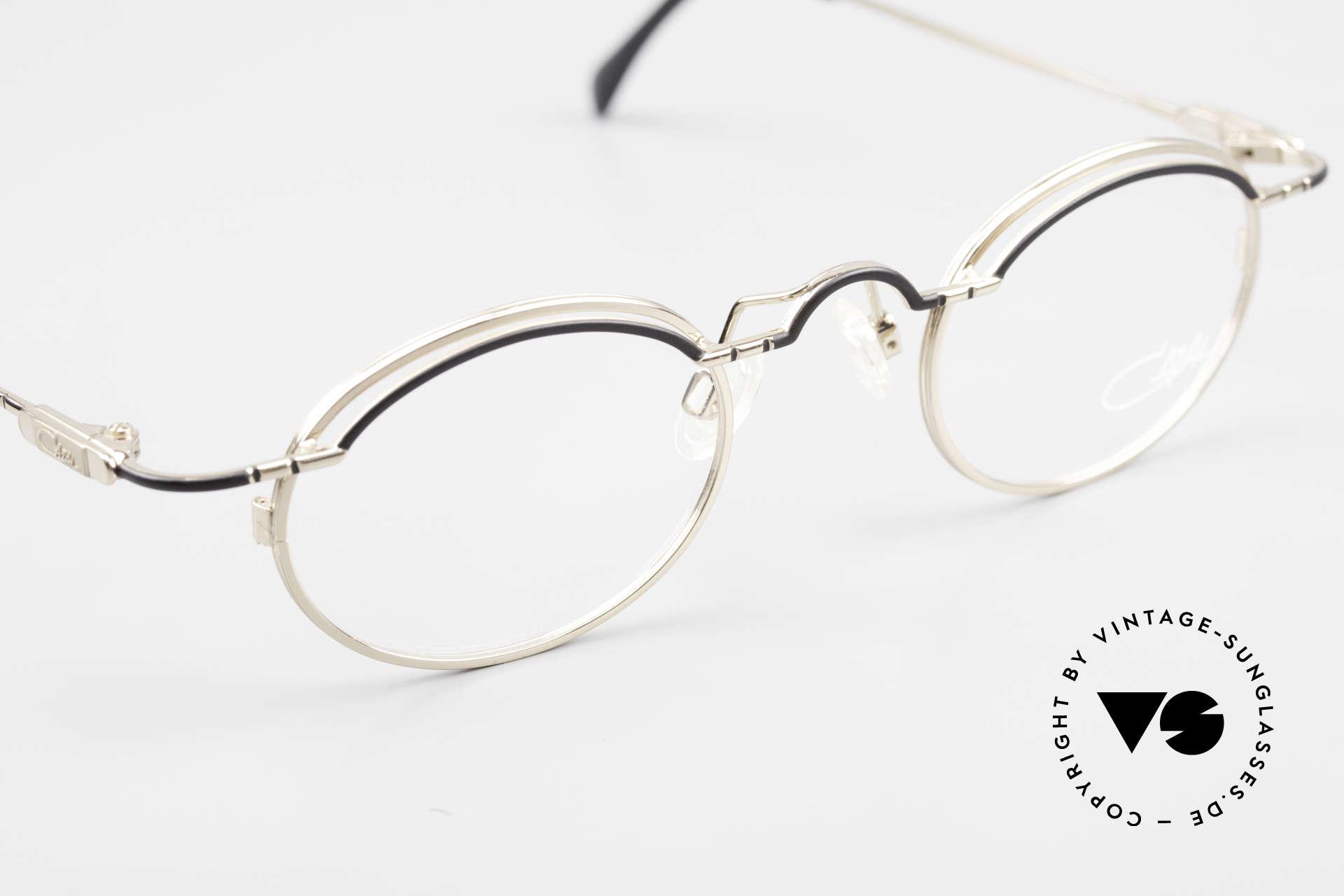 Cazal 775 Rare Oval 1990's Eyeglasses, NO retro eyeglasses; 100% original 90's commodity, Made for Men and Women